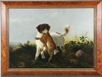 dog with rabbit by alexander pope