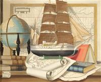 maritime still life by karel cerný