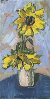 sonnenblumen by otto freytag