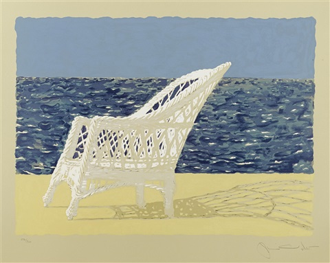 the wicker chair by jamie wyeth