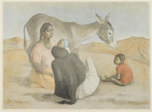 familia indígena iii by francisco zúñiga