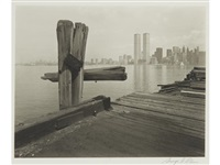 hudson river pier jersey city by george tice
