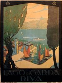 lago di garda, riva by antonio simeoni