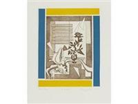 a group of 9 prints by françoise gilot
