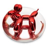 balloon dog - red by jeff koons