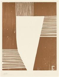 abstrakte komposition by otto freundlich