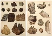 the mineral kingdom (8 works) by reinhard brauns