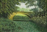 vallée de chevreuse pont sur l'yvette by camille bombois