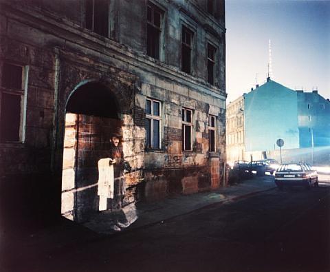 untitled (cityscape) by shimon attie