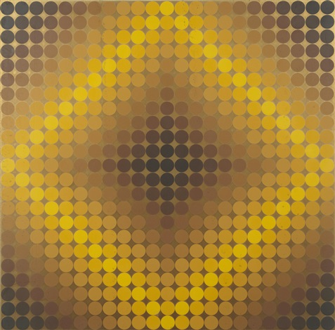 diaf positive diaf negative 2 works by victor vasarely