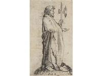 st. matthew (from the twelve apostles) by martin schongauer