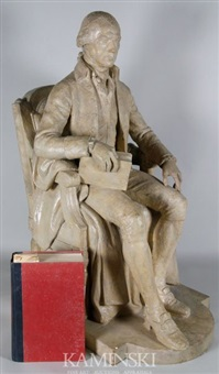 model for statue of president james madison by w. harold hancock