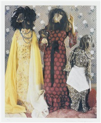 stepsisters (from cinderella) by william wegman