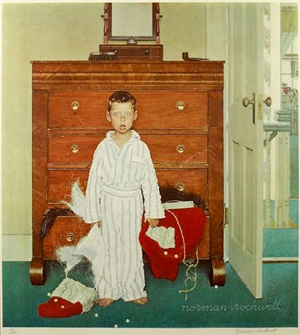 Bottom Drawer By Norman Rockwell