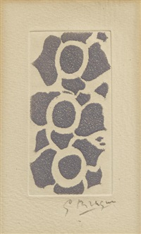 untitled, from né le by georges braque