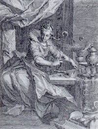 vanitas by willem isaaksz swanenburgh the elder