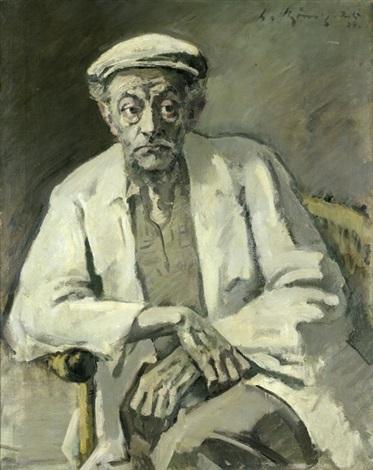 ernst barlach (vii) (mit schirmmütze) by leo von könig