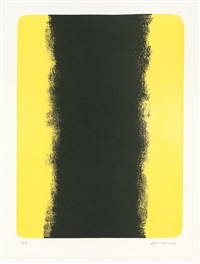 l-5 (2 works) by hans hartung