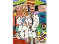 scott and zelda fitzgerald in paris by richard marshall merkin