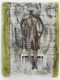 mujer con medias malva, from mujeres by rufino tamayo