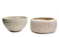 vessels (set of 2) by architectural pottery