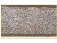 the woven world by mark tobey