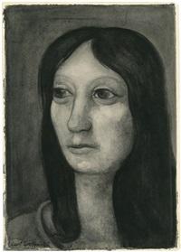 portrait einer dame by curt grosspietsch