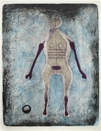 la negra, from mujeres by rufino tamayo