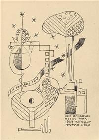 abstrakte komposition by hannah höch