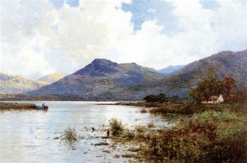 A view of the hills of Killarney, Ireland by Alfred