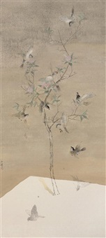 flowers blossom in a warm spring by tu shaohui