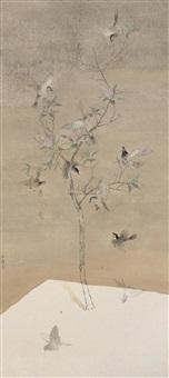 flowers blossom in a warm spring by tu shaohui