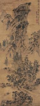 晴岚独钓 by lan ying