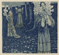 frühling (+ 2 others; 3 works) by maximilian lenz