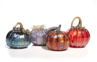 pumpkins (4 works) by john f. glass