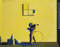 a composition for mondrian by liu ye