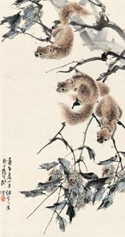 松鼠 by liu bin