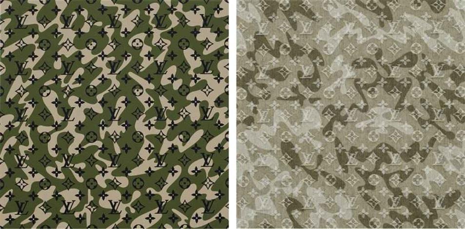 monogramoflage monogramoflage treillis 2 works by takashi murakami
