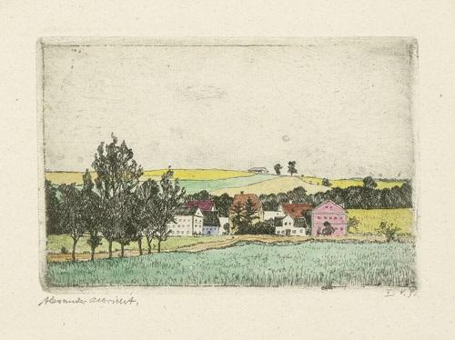landschaften weimar und umgebung portfolio of 12 by alexander olbricht