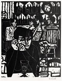 konvolut von 5 (5 works) by dieter kressel