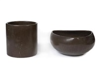 planters (set of 3) by architectural pottery