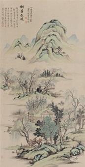 湖庄春晓 by xu zhao