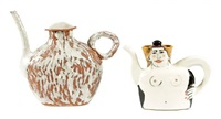 teapot form sculptures (set of 3)) by jenny lind