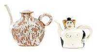teapot form sculptures (set of 3)) by jenny lind