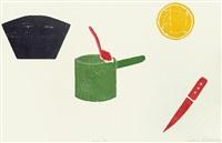 küche, teile (+ portfolio of 6; 7 works) by matthias mansen