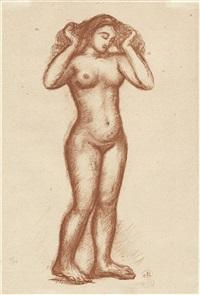 illustration zu ovids l'art d'aimer by aristide maillol