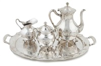 coffee service (set of 4) by plata villa