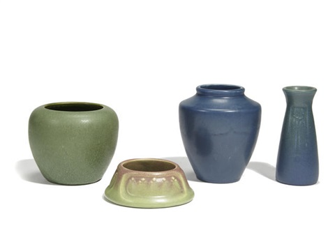 Vases And A Bowl Set Of 3 By Rookwood Pottery On Artnet