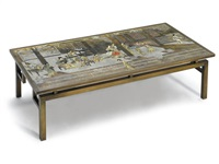 chin yin coffee table by philip and kelvin laverne