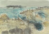 uferlandschaft by otto niemeyer-holstein